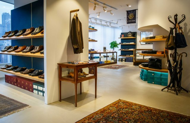 Attire House combines a men's store, barber and cocktail bar under one roof.