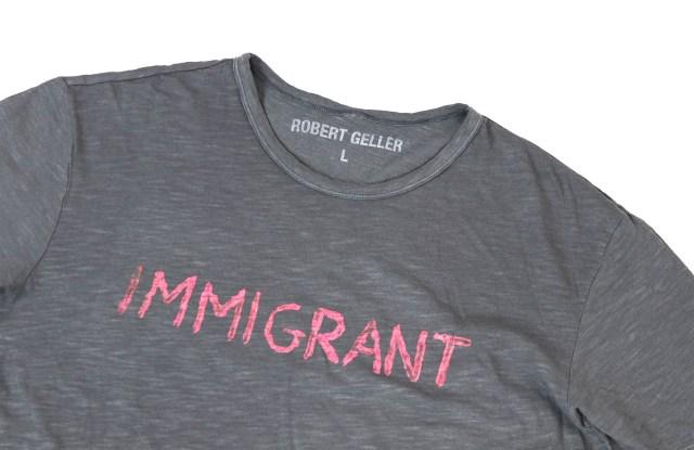 The Robert Geller Immigrant T-shirt
