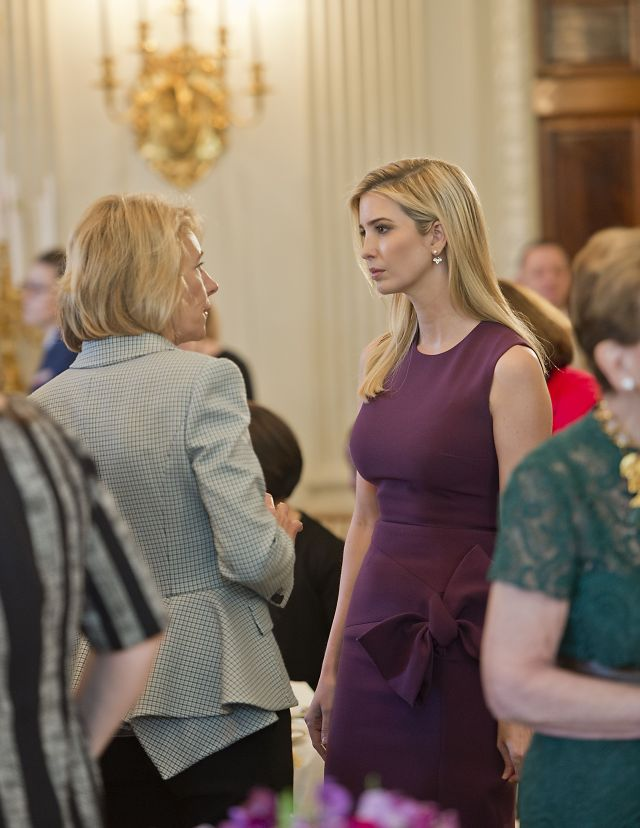Ivanka TrumpUS First Lady Melania Trump hosts a luncheon in honor of International Women's Day, Washington, USA - 08 Mar 2017