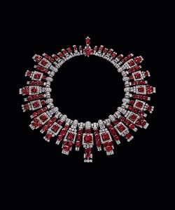 Nawanagar ruby necklace by Cartier, 1937.