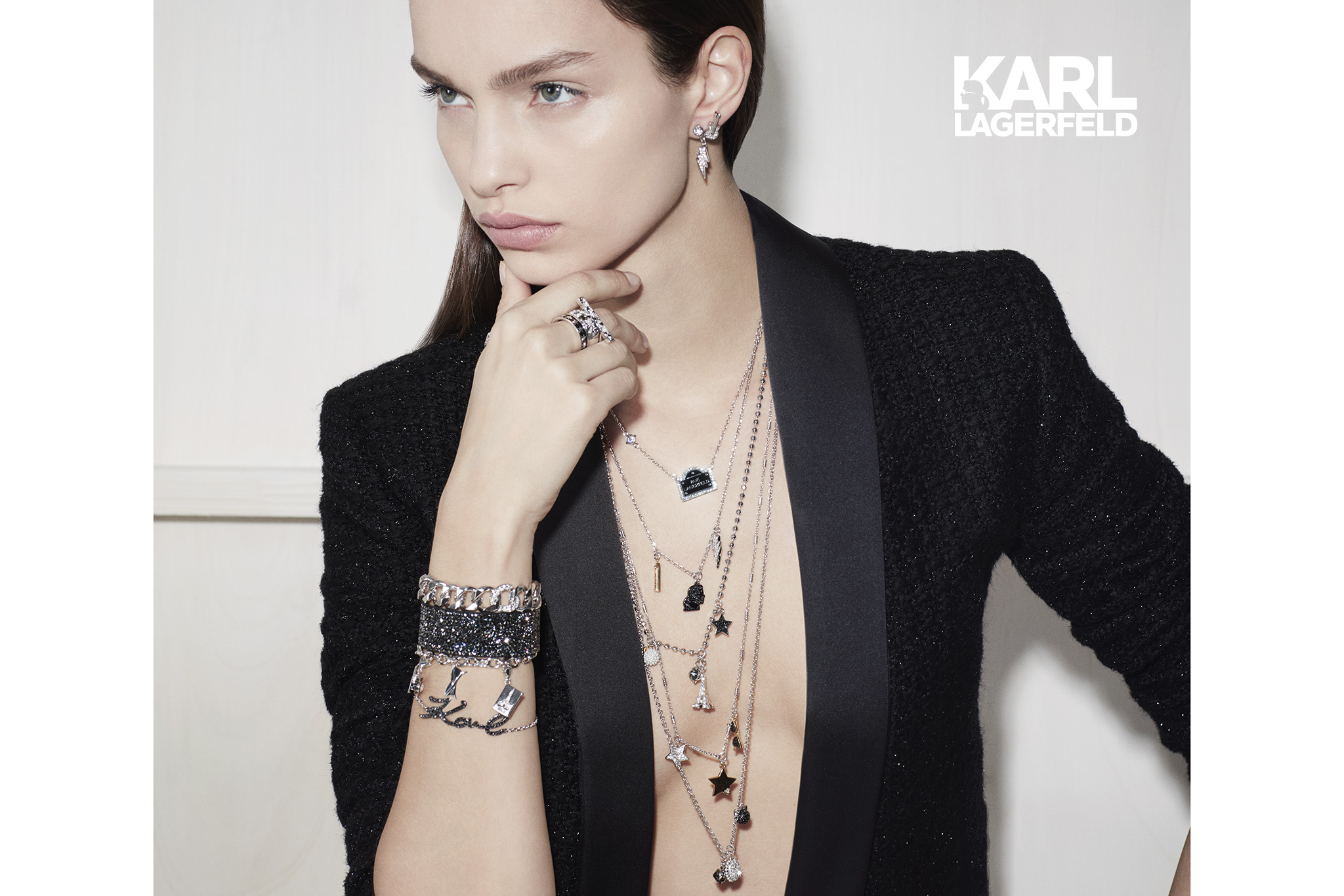 Karl Lagerfeld's first collection for Swarovski
