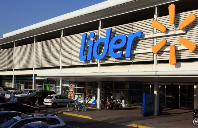 A Lider store in Chile.