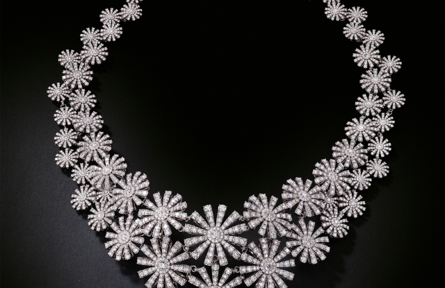 "A necklace from Damiani ""Margherita"" collection"