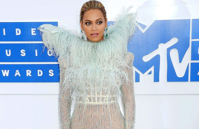 Beyonce at the 2016 MTV Video Music Awards.