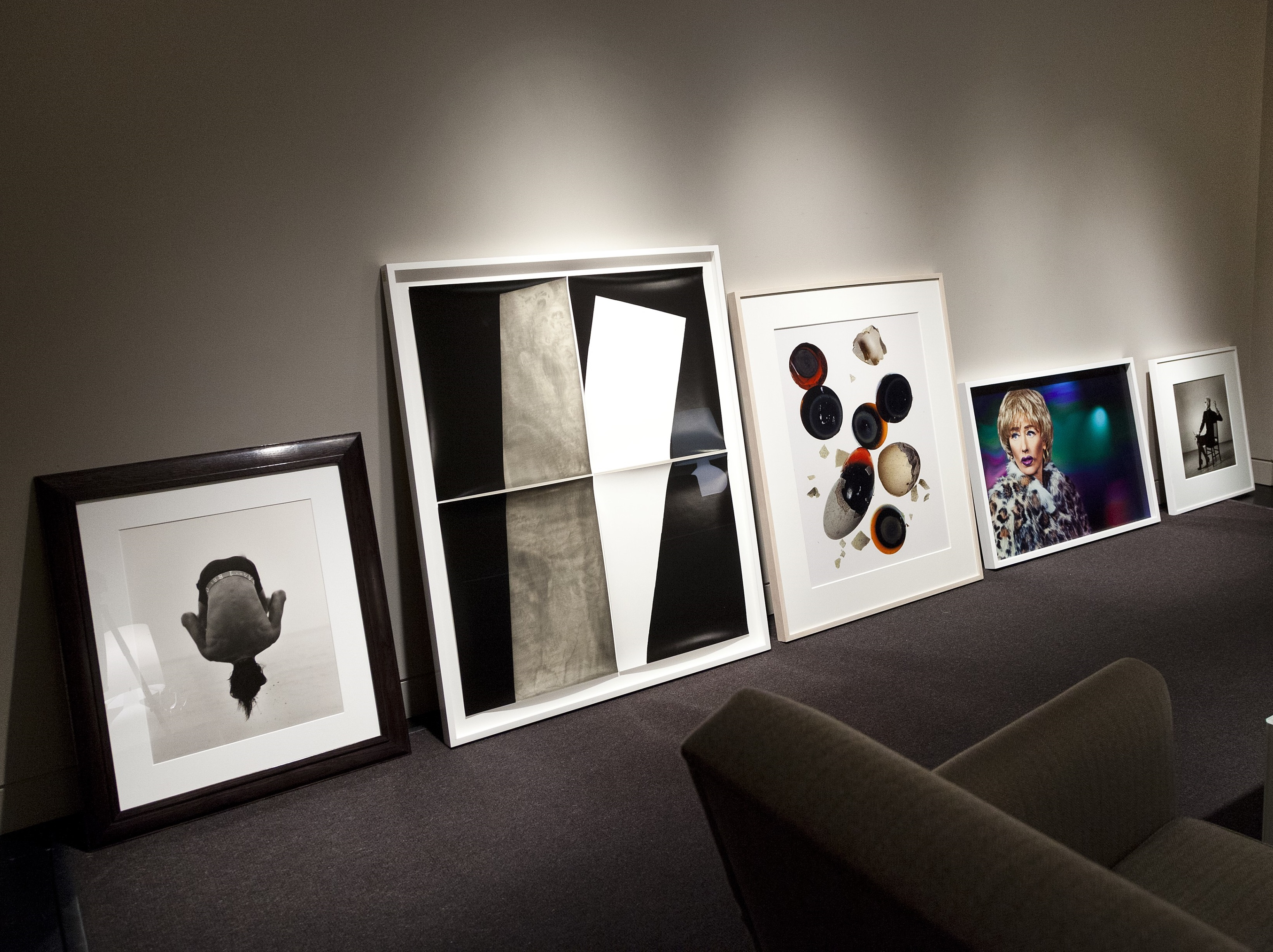 Works to be auctioned for the Elton John AIDS Foundation on April 6.