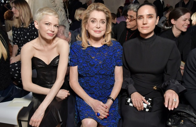 Michelle Williams, Catherine Deneuve and Jennifer Connelly