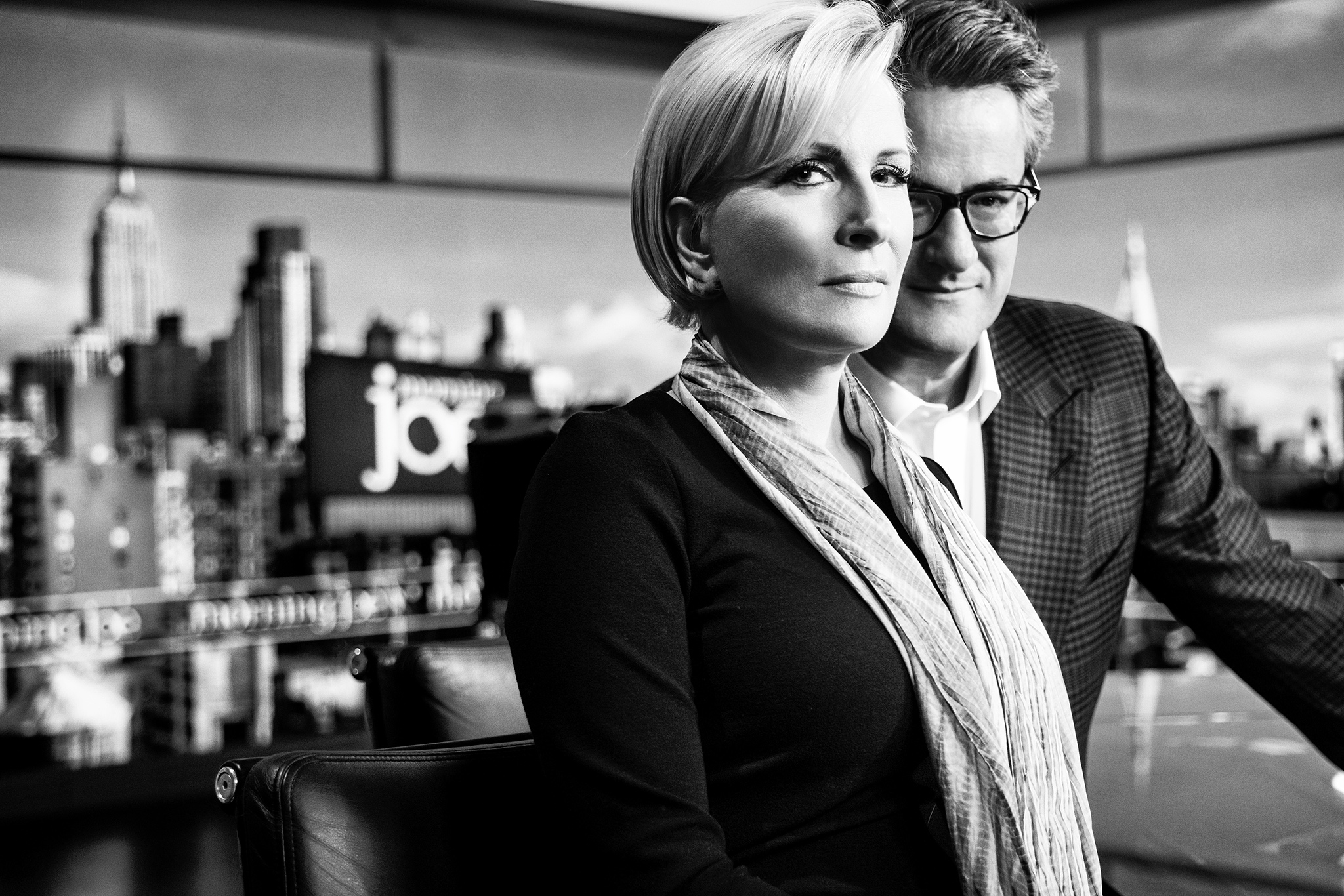 Interview With Msnbc Morning Joe S Mika And Joe On Trump Photo Wwd