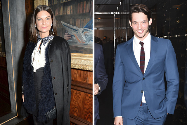 Natalie Massenet and Nick Brown.