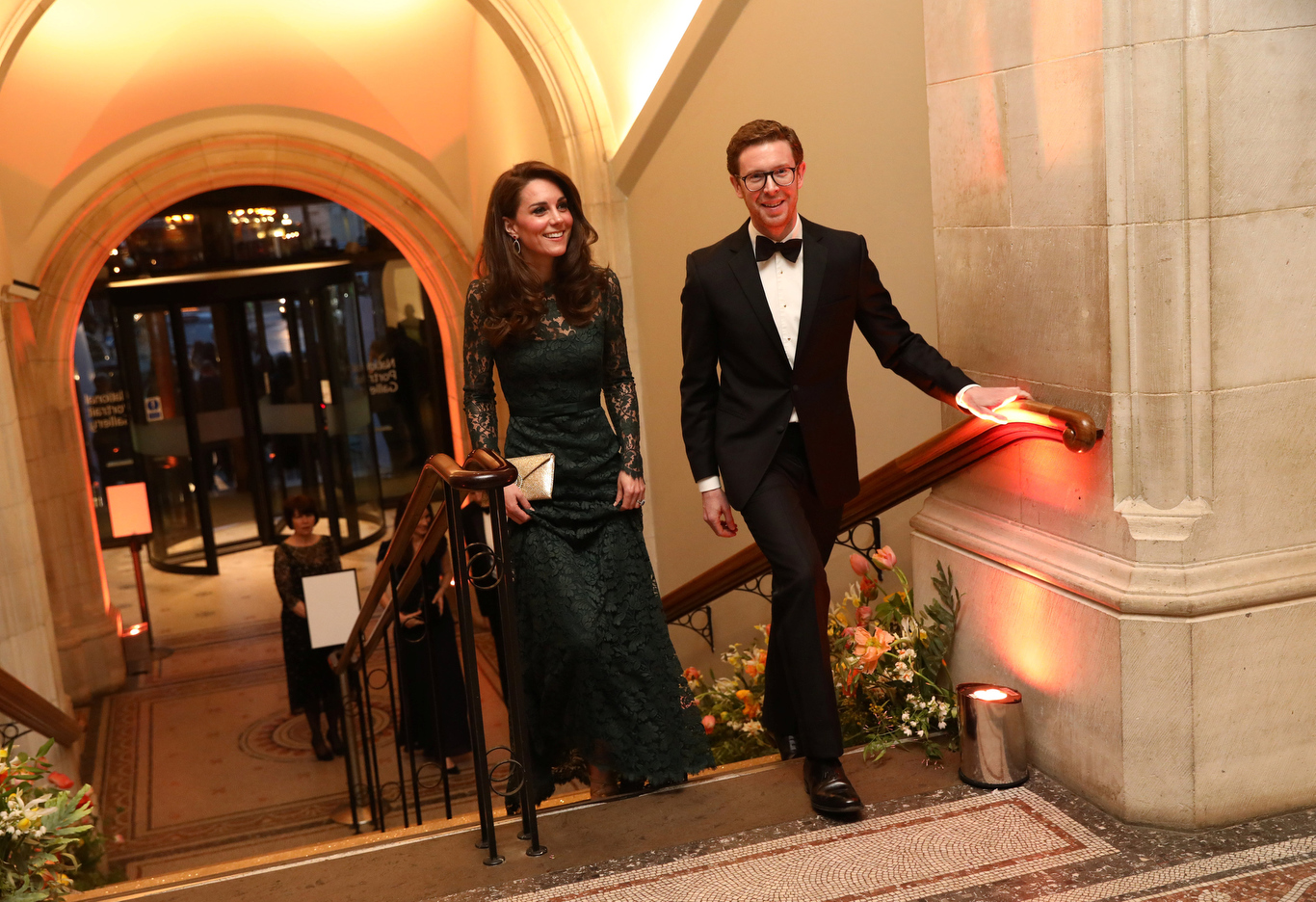 Cullinan, gallery director at the 2017 Portrait Gala at the National Portrait Gallery in London