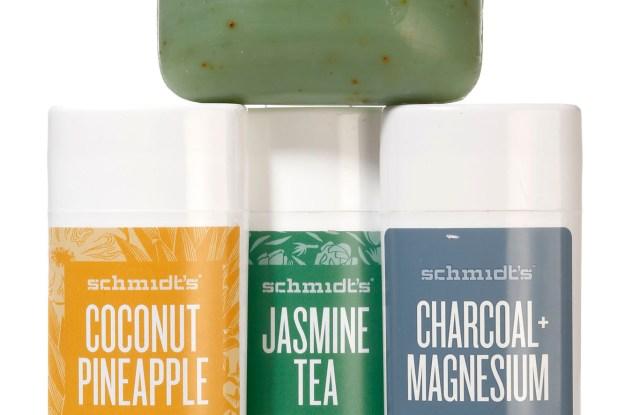 Schmidt's Naturals products.