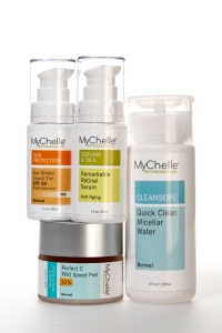 MyChelle products.