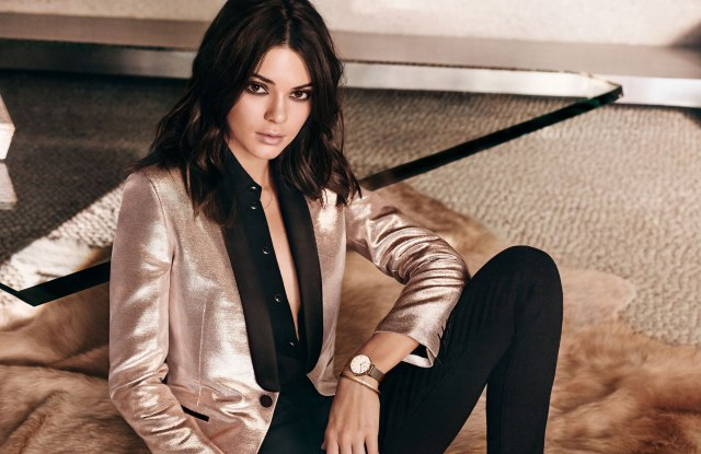Kendall Jenner fronts the new Daniel Wellington campaign.
