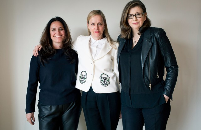 Silvia Negri Firman, Libby Haan and Anne Fahey-Storment