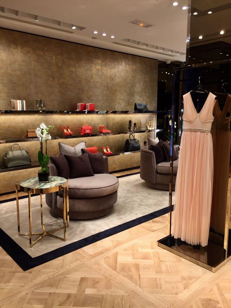 Elisabetta Franchi's store in Paris.