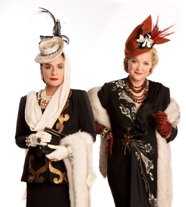 Patti Lupone and Christine Ebersole in War Paint.