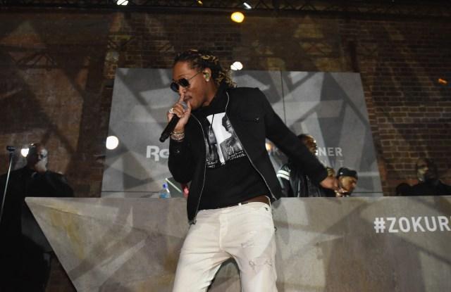 Hip-hop artist Nayvadius Wilburn — known as Future
