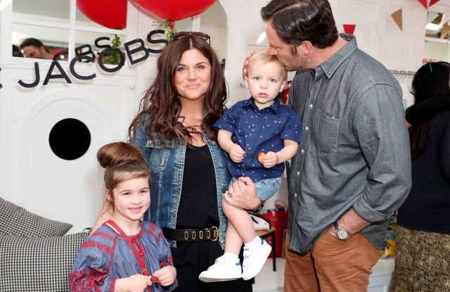 Harper Renn Sandh, Tiffani Thiessen, Brady Sandh and Holt Fisher SandhLittle Marc Jacobs celebration Benefiting Baby2Baby, Los Angeles, USA - 09 Mar 2017