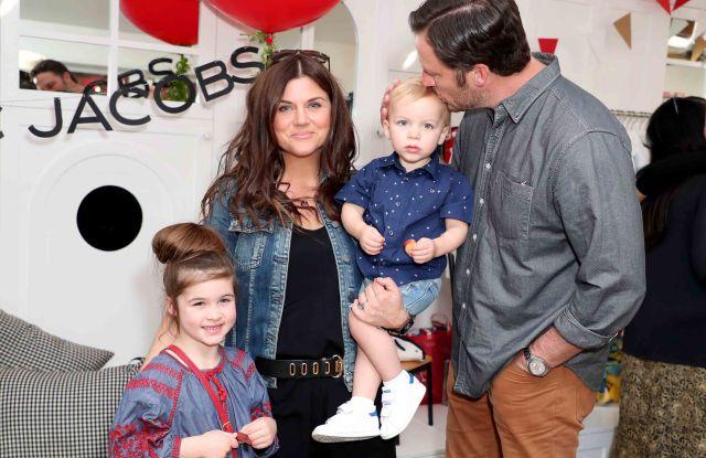 Harper Renn Sandh, Tiffani Thiessen, Brady Sandh and Holt Fisher SandhLittle Marc Jacobs celebration Benefiting Baby2Baby, Los Angeles, USA - 09 Mar 2017