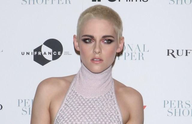 Kristen Stewart, wearing a Chanel dress'Personal Shopper' film premiere, Arrivals, New York, USA - 09 Mar 2017