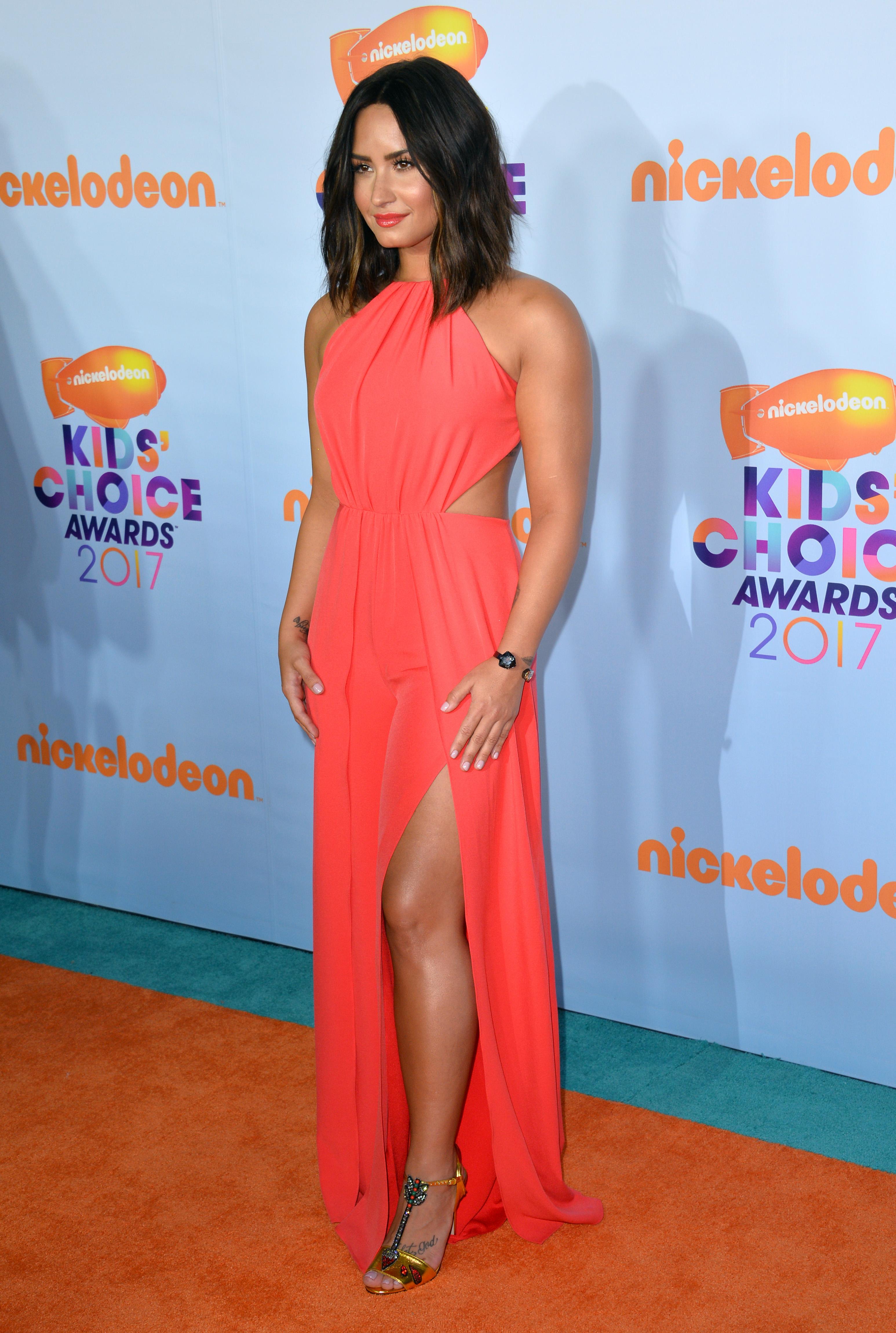 Demi LovatoKids Choice Awards 2017, Los Angeles 11 Mar 2017