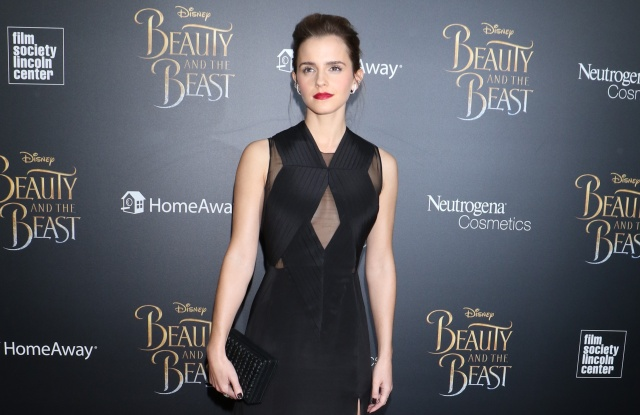 Emma Watson 'Beauty and the Beast' film premiere, Arrivals, New York, USA - 13 Mar 2017Wearing a Givenchy dress