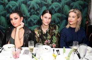 Charli XCX, Niia and Amanda SteeleMax Mara x Flaunt Dinner, Los Angeles, USA - 17 Mar 2017