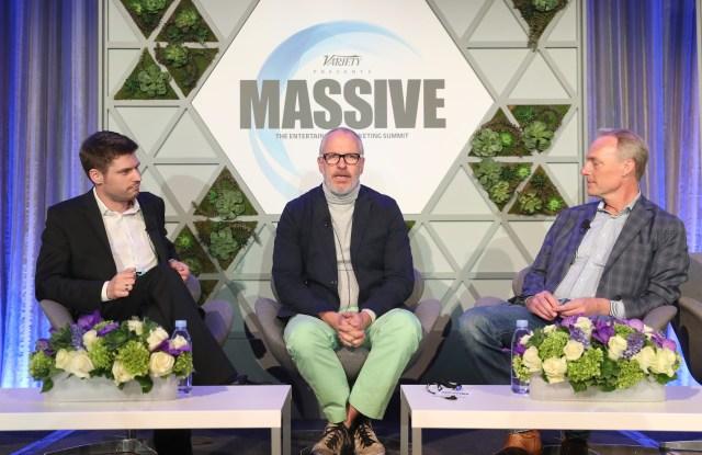 Janko Roettgers, Donald Robertson and Matt SeilerVariety MASSIVE Entertainment Marketing Summit, Los Angeles, USA - 22 Mar 2017