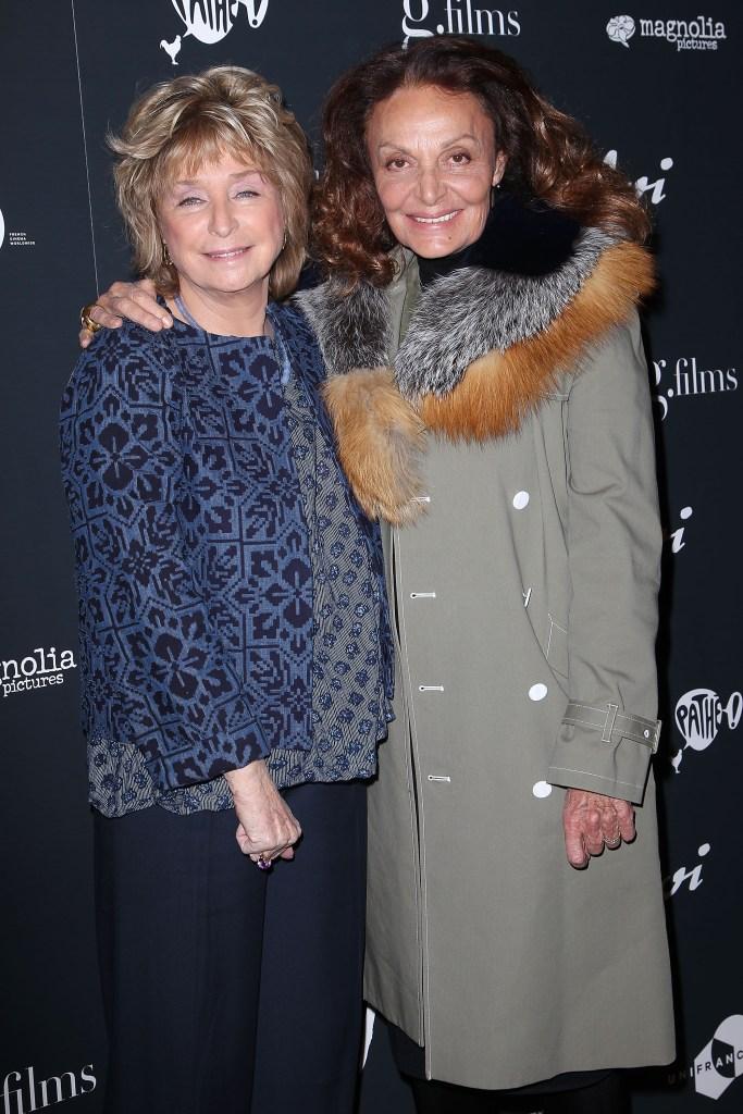 Daniele Thompson (Director) and Diane von Furstenberg'Cezanne et Moi' film screening, New York, USA - 22 Mar 2017
