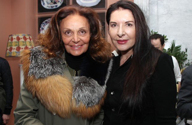 Diane von Furstenberg and Marina Abramovic'Cezanne et Moi' film screening, After Party, New York, USA - 22 Mar 2017