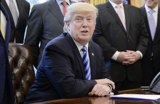 US President Donald J. Trump white house Washington dc