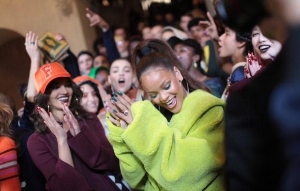 Fenty Puma by Rihanna RTW Fall 2017