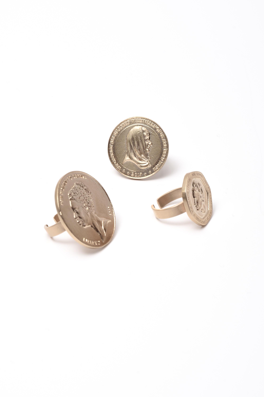 Rings from the Wanda Nylon-Kim Mee Hye collaboration.