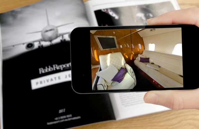 Robb Report now features augmented reality capabilities.