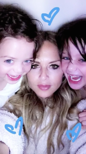 Rachel Zoe with her sons, Kaius and Skyler