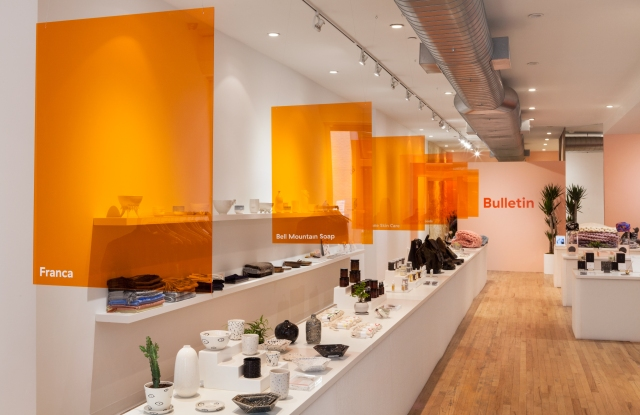 Bulletin's store in SoHo.