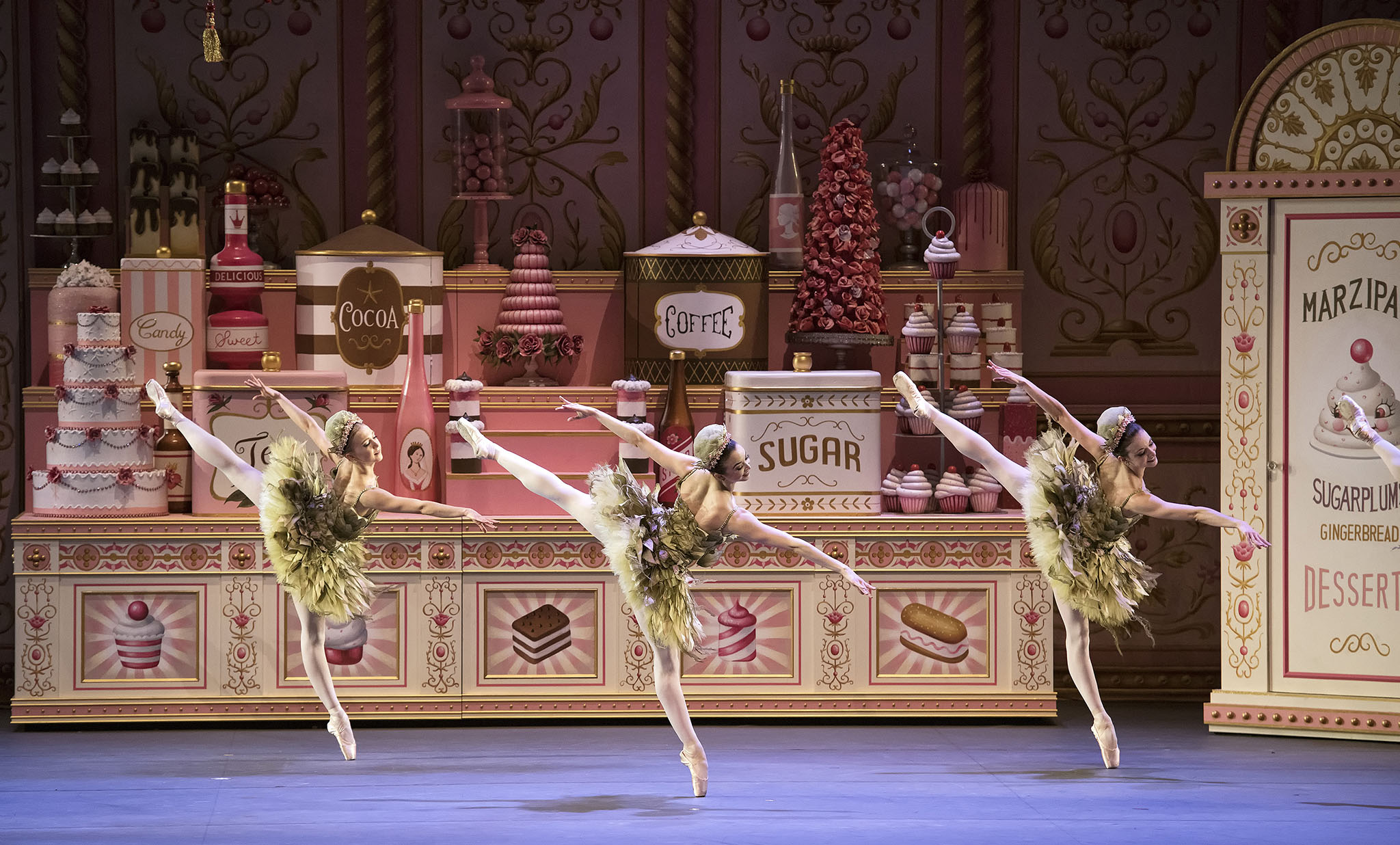 Katherine Williams, Paulina Waski and April Giangeruso in Whipped Cream at the American Ballet Theatre.
