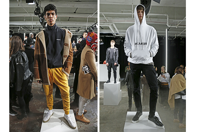 Looks from Stampd.