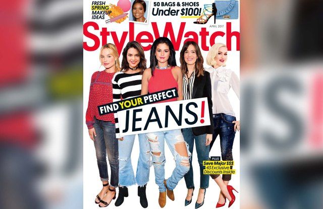 StyleWatch's April 2017 cover.