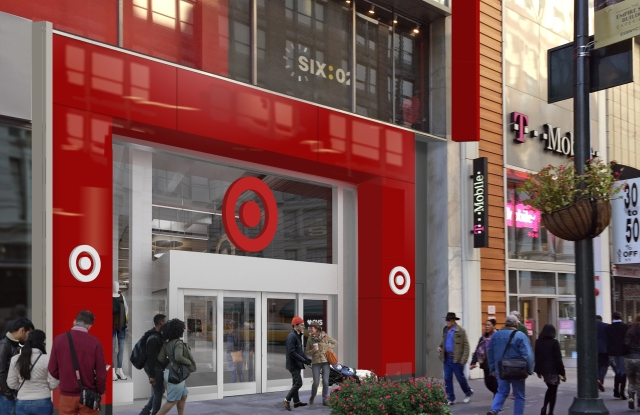 A rendering of Target's small-format store set to open in Herald Square.