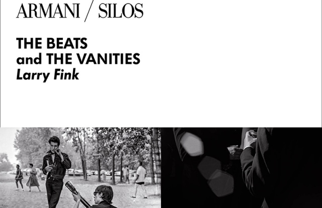 "The poster of ""The Beats and The Vanities"" exhibit to be held at Armani Silos"