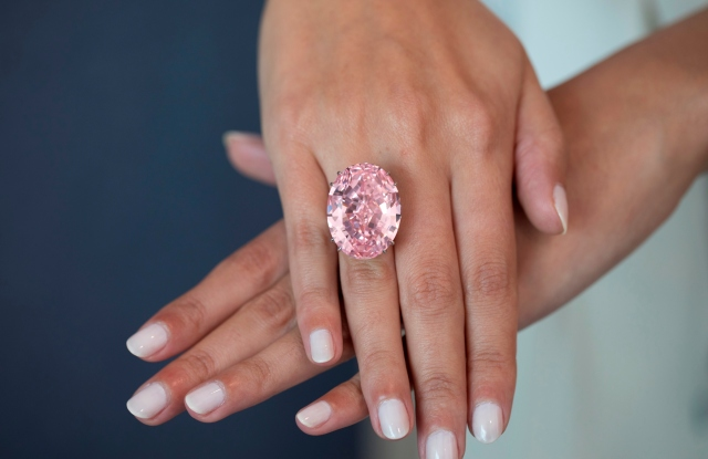 The Pink Star is the largest internally flawless fancy vivid pink diamond graded by the Gemological Institute of America.