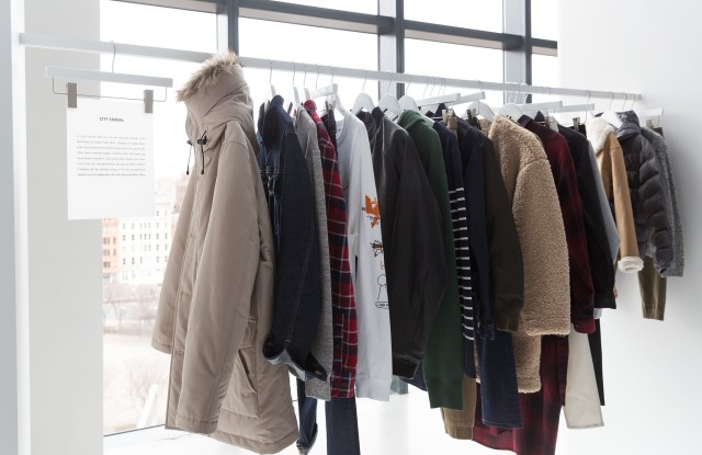 Uniqlo's fall/winter 2017 LifeWear collection was previewed in New York.