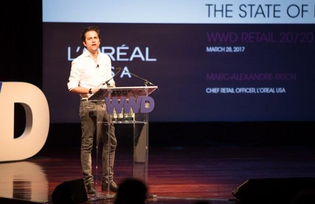 Marc-Alexandre Risch, chief retail officer of L'Oréal USA,