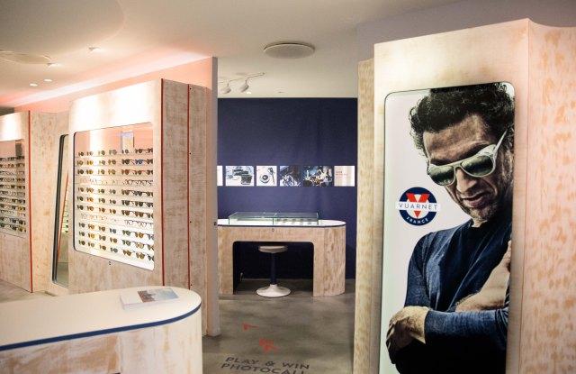 The Vuarnet store in Paris