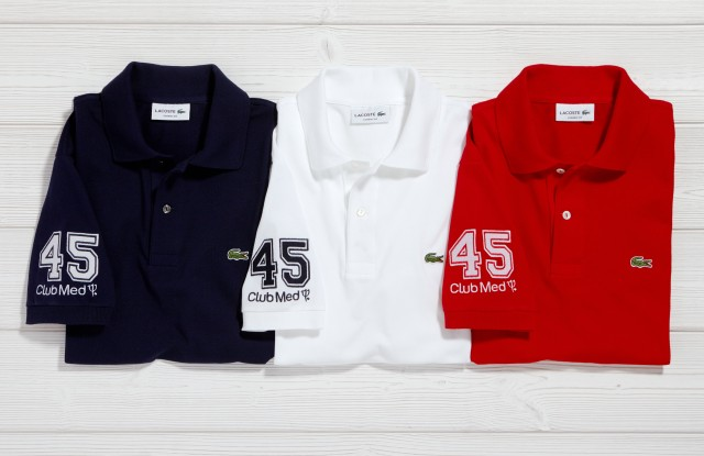 The Lacoste and Club Med polo shirts.