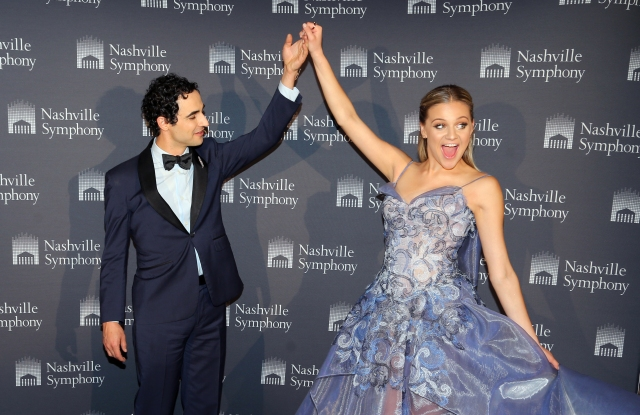 Zac Posen with Kelsea Ballerini.