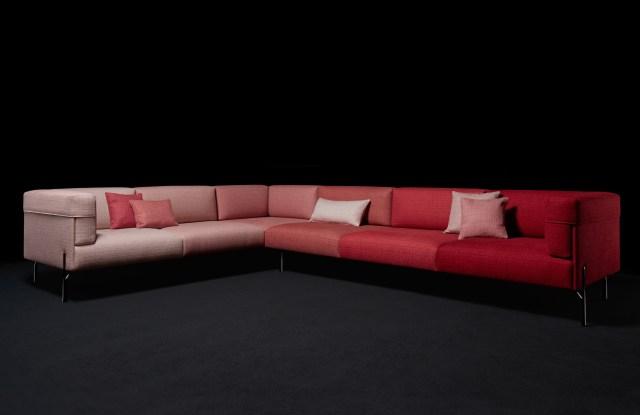 "Fendi Casa ""Six Shades of Palmer"" sofa"