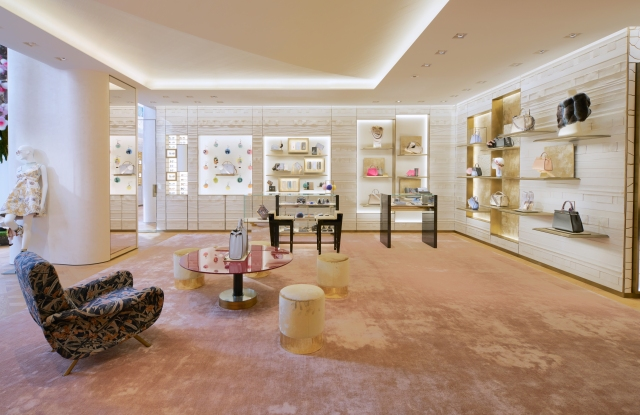 Fendi's new Ginza Six boutique