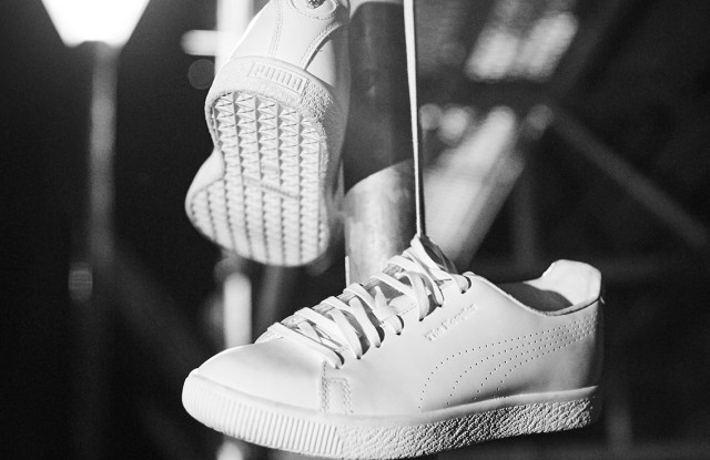 The revisited Puma Clyde by The Kooples.