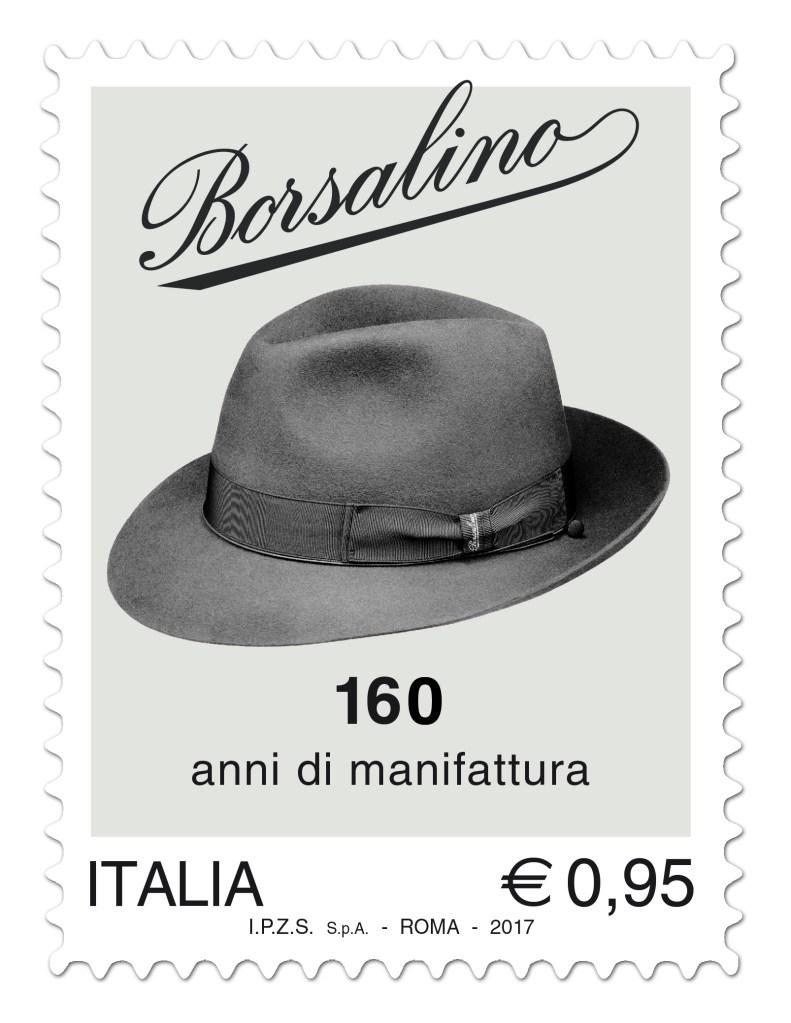 Borsalino postage stamp